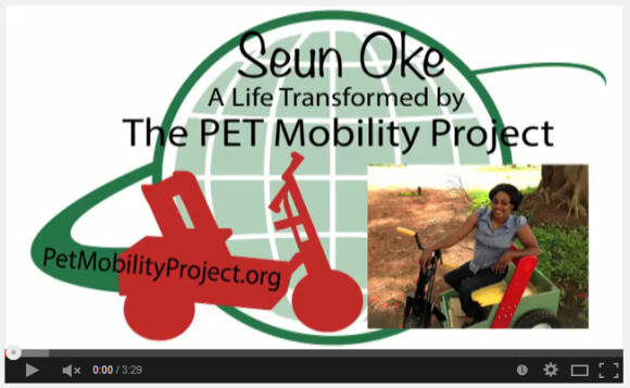 Seun Oke - A Life Transformed by The PET Mobility Project