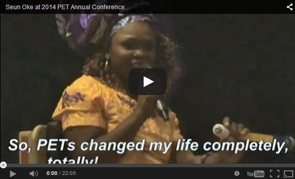 Seun Oke at 2014 PET Annual Conference