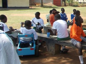 Abandoned Kenyan Children Receive Mobility