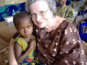 Karen with child Nigeria