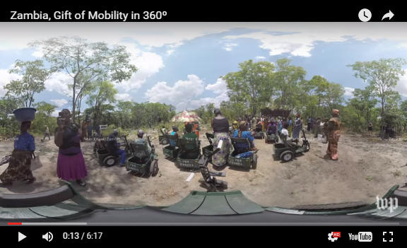 Zambia in 360 degrees 6:17 video