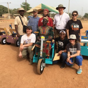 PET Executive Director works in Ivory Coast to strengthen relationship and distribute PETs.
