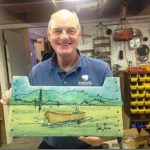 Executive Director enjoys art at WA production shop.