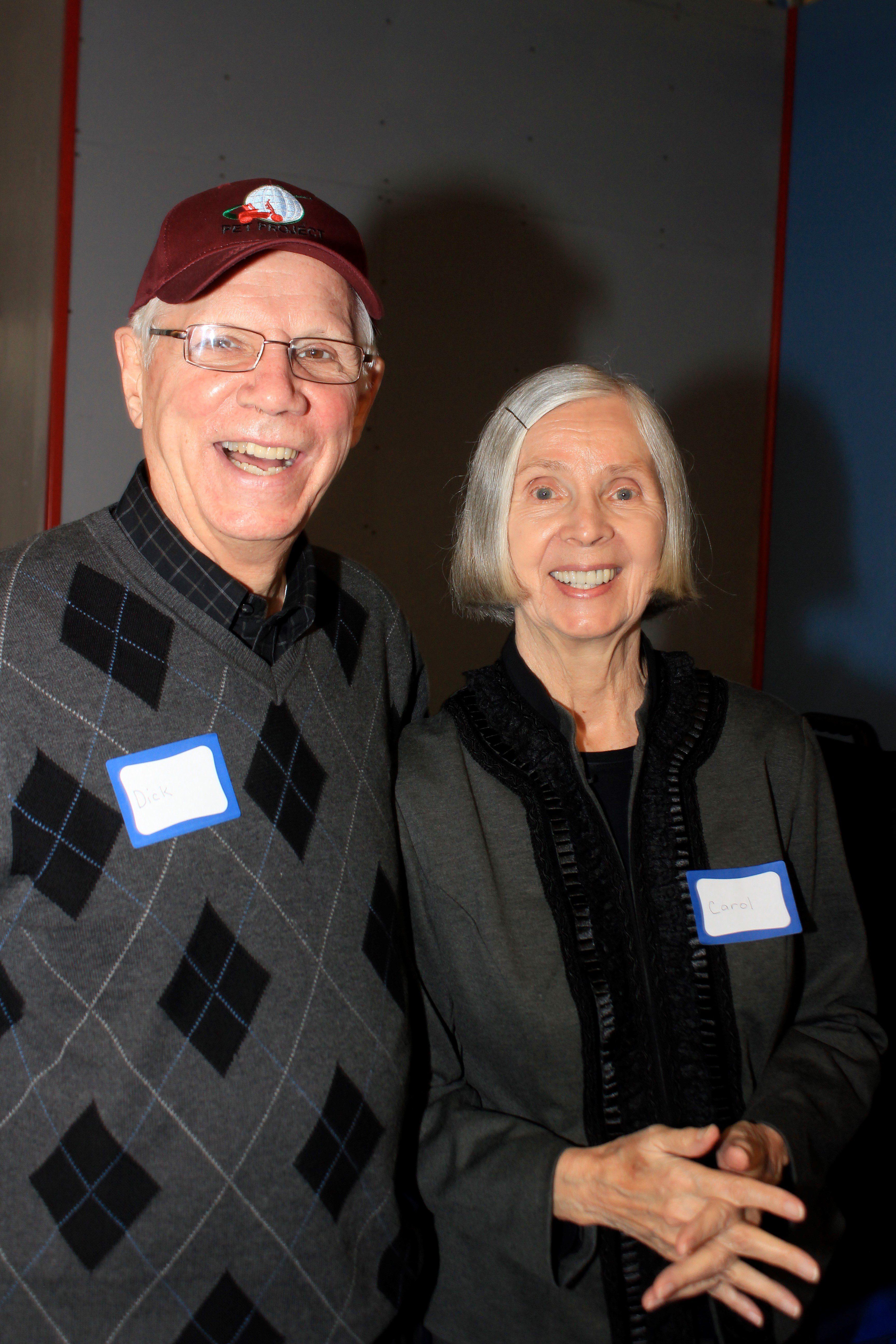 Dick and Carol Heasley