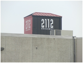 2112 Broadway Sign